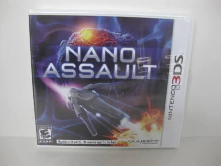 Nano Assault (SEALED) - Nintendo 3DS Game